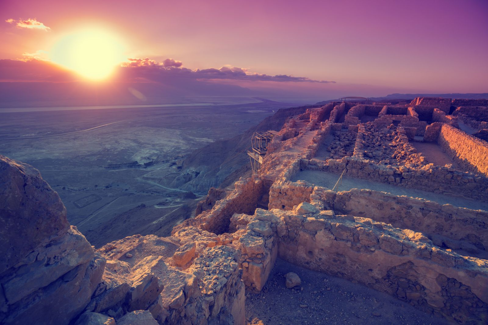 From TLV: Round Trip Masada Sunrise,Ein Gedi And Dead Sea Tour
