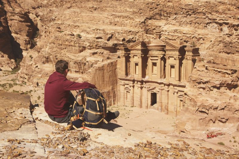 From Aqaba: 2 Day Tour to Petra and Wadi Rum