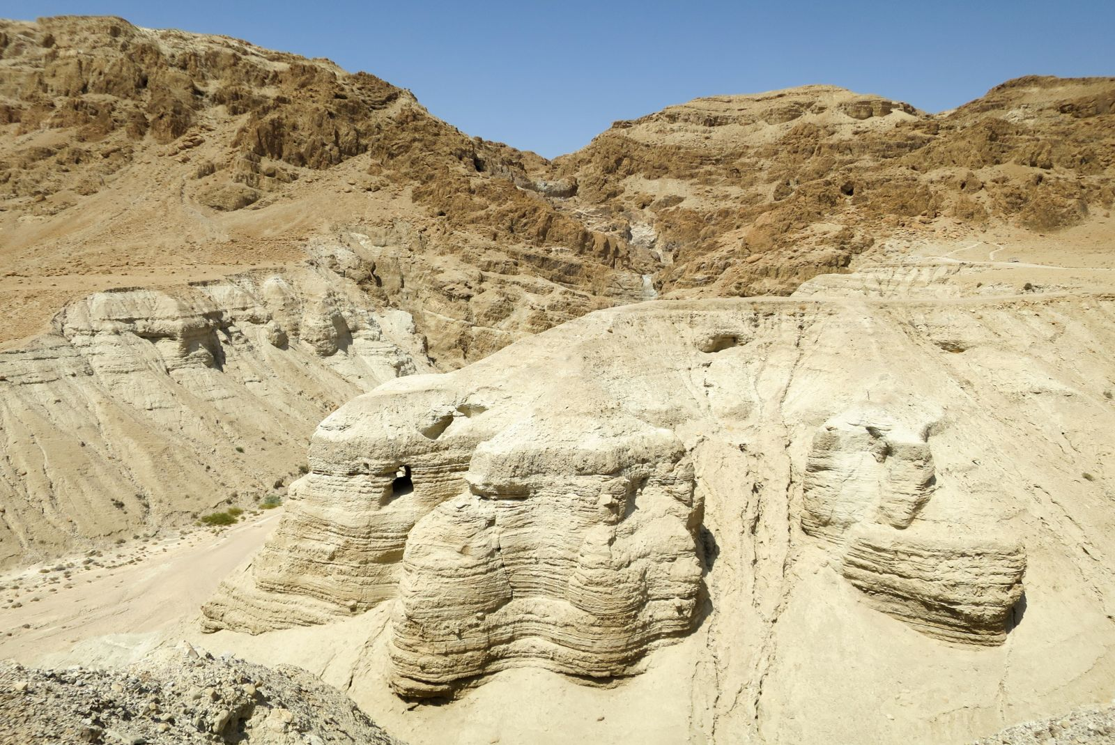 From Jerusalem/Tel Aviv: Bethlehem,Qumran,Jericho and Dead Sea Tour $65