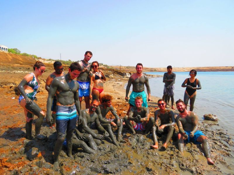 Dead Sea Relaxation Mineral Spa and Mud Bath Day Tour