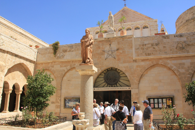 From Jerusalem: Full day Bethlehem and Dead Sea Tour Only $35