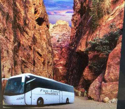 One way transfer Daily Shuttle to Petra From Jerusalem Only $74.00