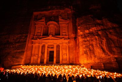 From Jerusalem/Tel Aviv: 2 Day Tour Petra by Night: Magical Experience