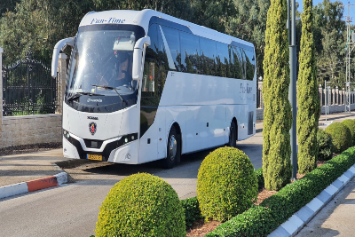 Shuttle bus from Tel Aviv / Jerusalem to Taba (border Egypt) $28