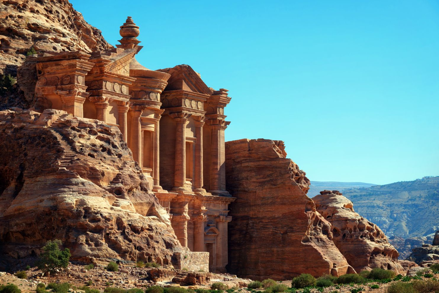 From Aqaba: Petra Wadi Rum 3 day tour