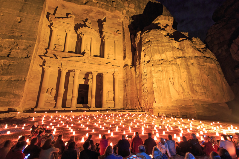From Jerusalem/Tel Aviv:3 Day Petra and Wadi Rum include Petra by night show tour