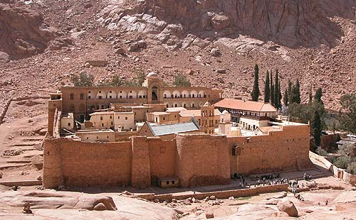 Tour to St Catherine monastery from Eilat (Sinai)